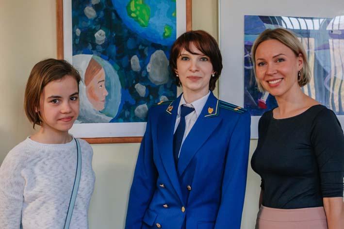 0e354cc0f Перовской межрайонной прокуратурой организован конкурс детского рисунка  «Космос и Право», посвященный Дню Космонавтики